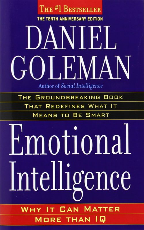 emotional intelligece book cover