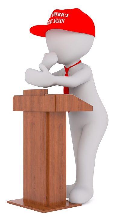 politician clipart - conversation confidence