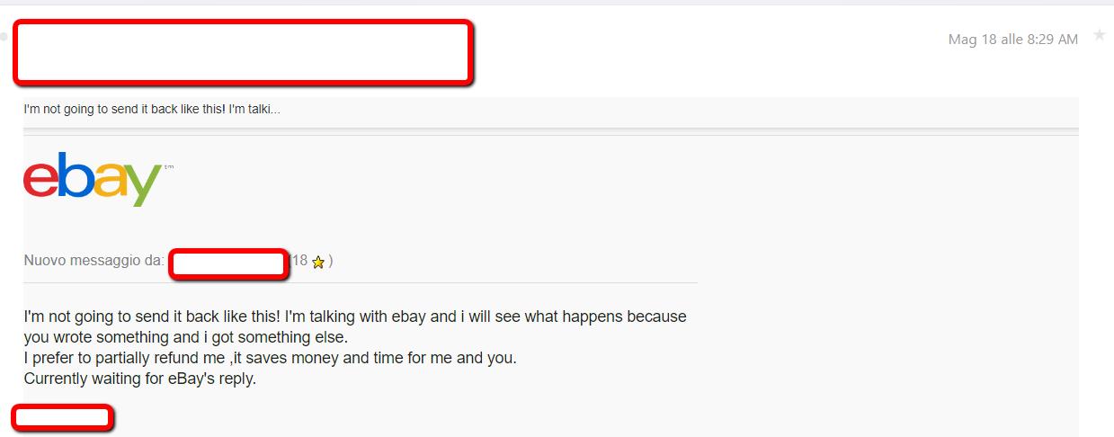 unfair refund request text example