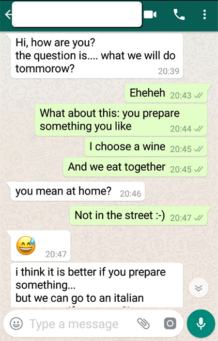 deadly dating mistake text example