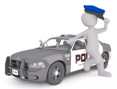 police car: how to avoid a traffic ticket