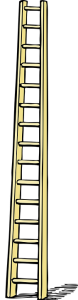 social ladder - leaders eat first but also protect the group