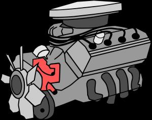 V4 engine