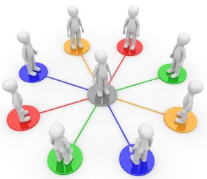 leader-centric group conversation