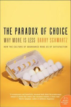 the paradox of choice cover