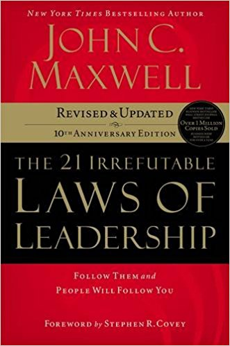 21 irrefutable laws of leadership book cover