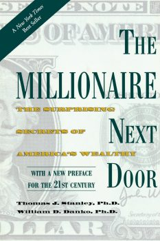 the millionaire next door book cover