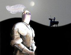 white knight VS dark knight