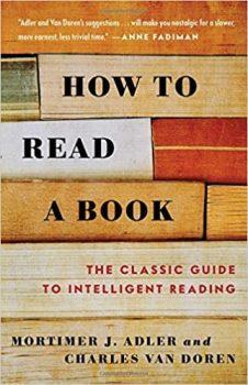 how to reada a book book cover