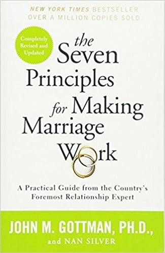the seven principles to make marriage work book cover