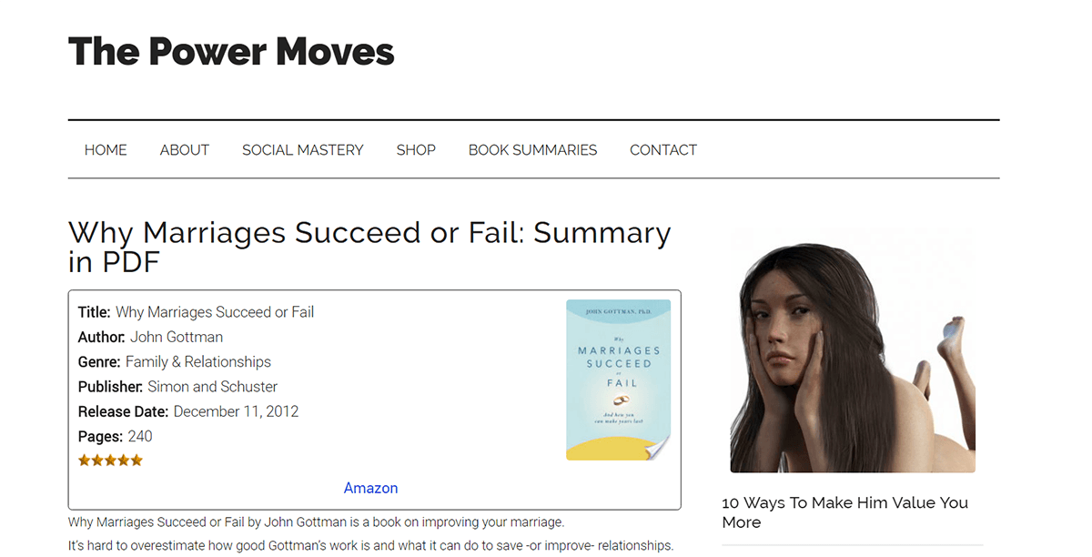 the power moves best book summary website