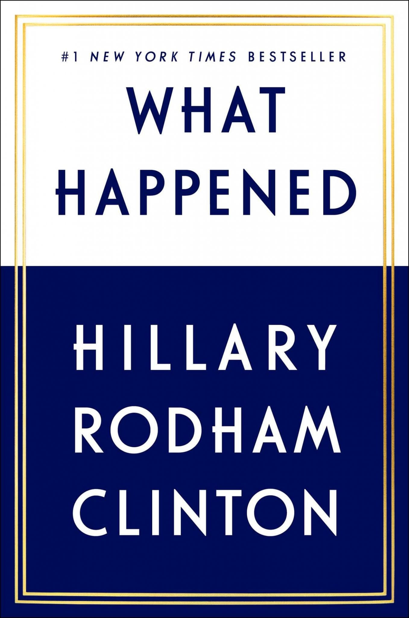 what happened book cover