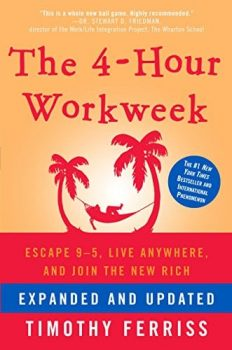 the 4 hour work week book cover