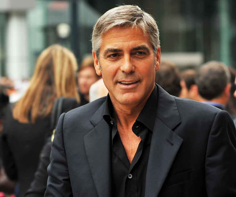 george clooney charming