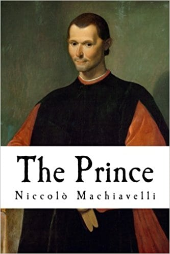 niccolo machiavelli book cover
