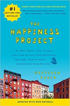 the happiness project book cover