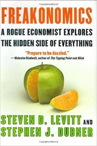 freakonomics book cover