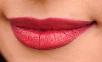 lipstick on perfect lips
