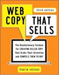 web copy that sells book cover