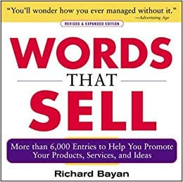 words that sell book cover