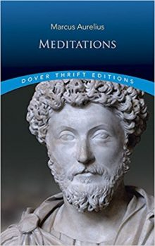 marcus aurelius meditations book cover