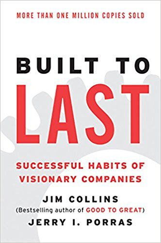 built to last book cover