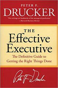 the effective executive book