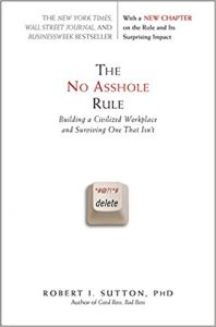 the no asshole rule book cover