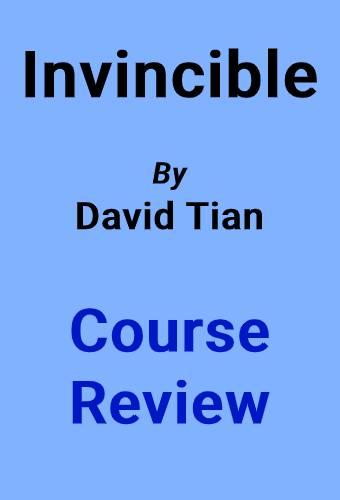 David Tian invincible cover