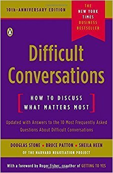Difficult Conversations book cover