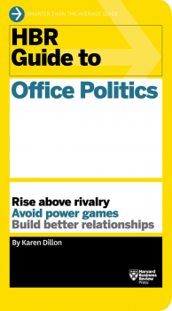 HBR guide to office politics book cover