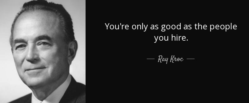 ray kroc HR lie