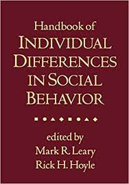Handbook of Individual Differences in Social Behavior cover