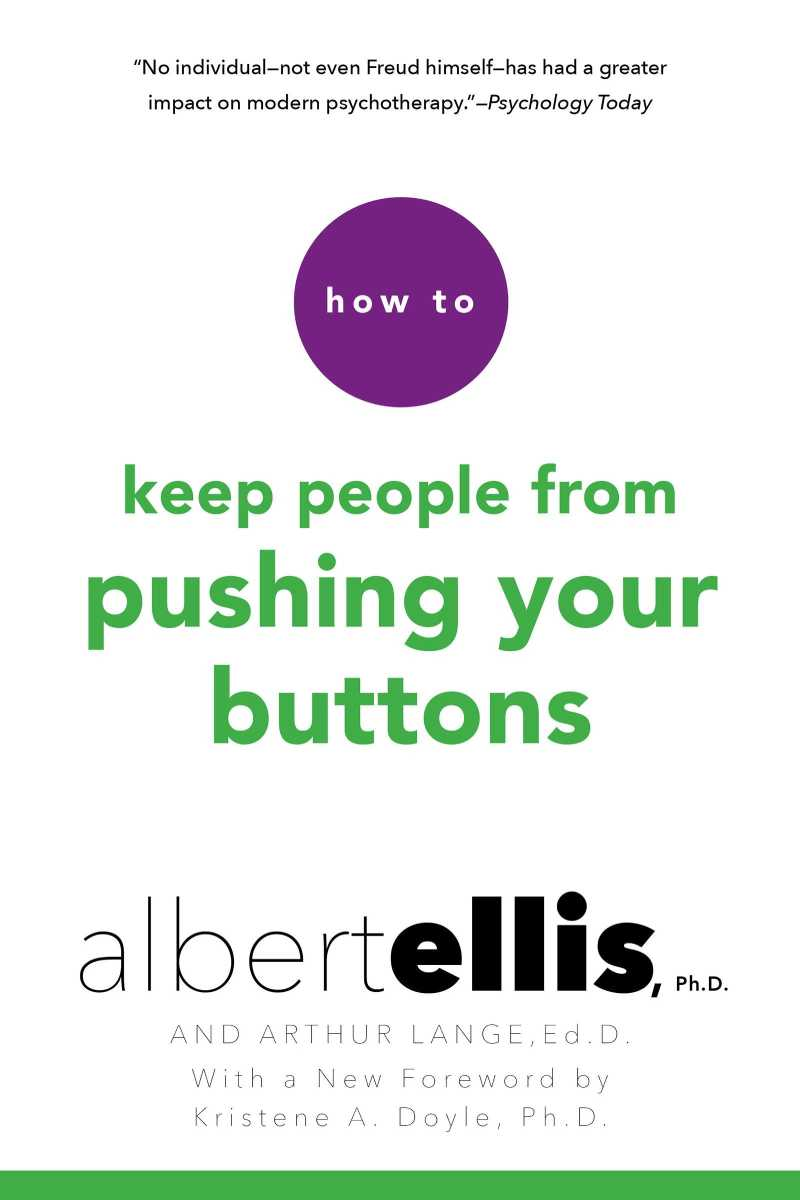 How to Keep People From Pushing Your Buttons book cover