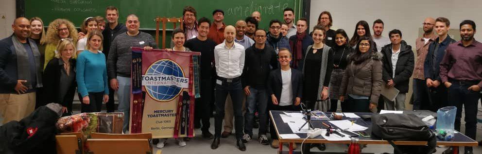 Lucio Buffalmano Toastmasters club