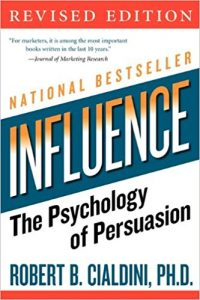 Influence Cialdini book cover