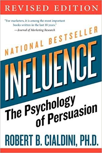 Influence Cialdini book cover