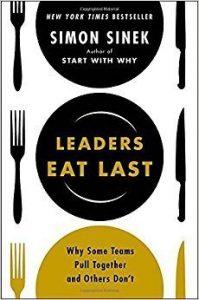 Leaders eat last book cover