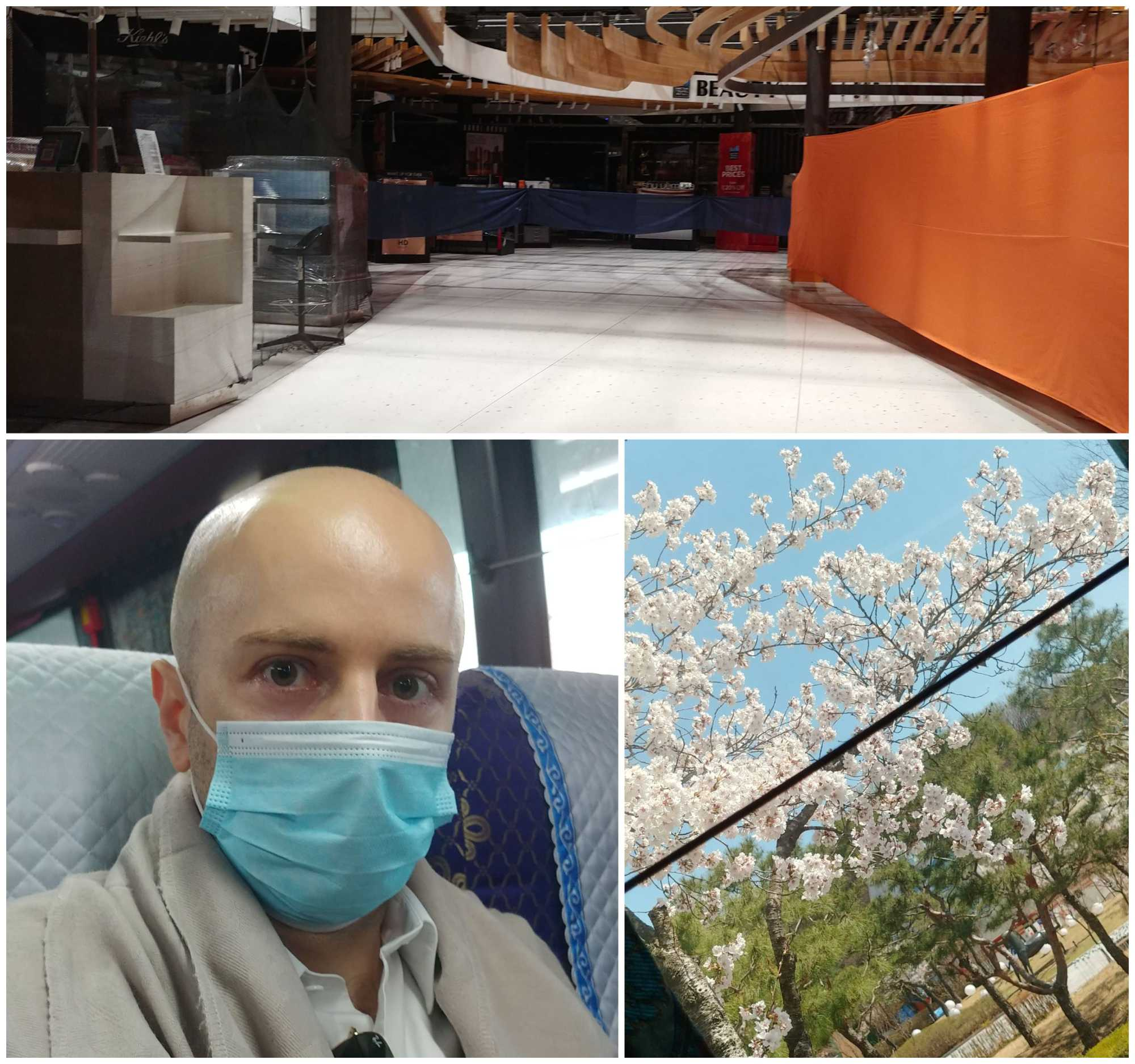 Lucio trip to korea during coronavirus