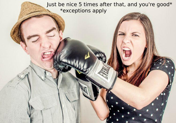 boxer woman argument
