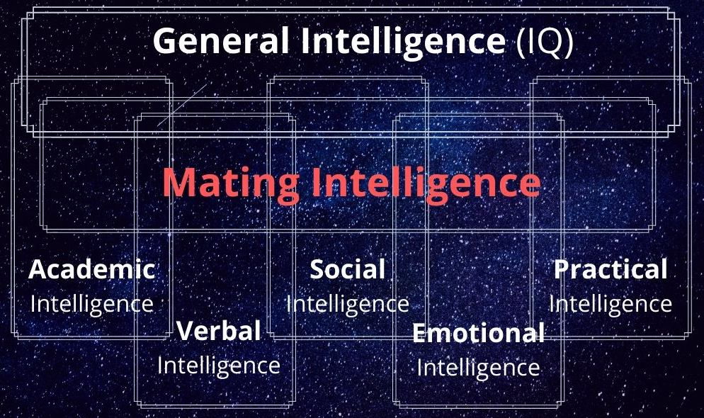 mating intelligence chart with other types of intelligence