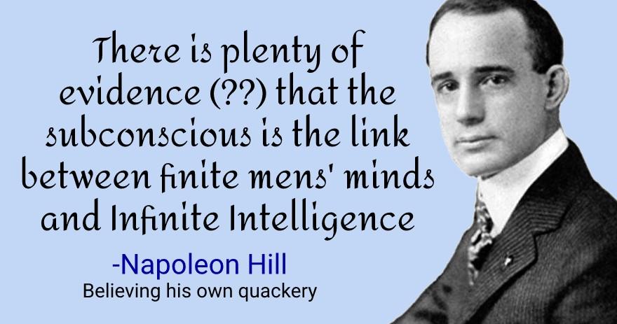 napoleon hill criticism