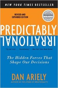 PREDICTABLY IRRATIONAL book cover