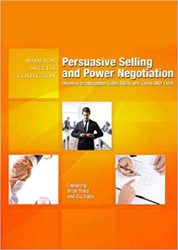 Persuasive Selling and Power Negotiation cover