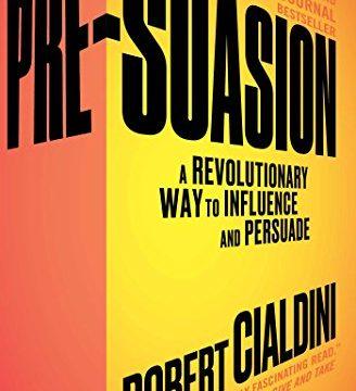 Pre-suasion book cover