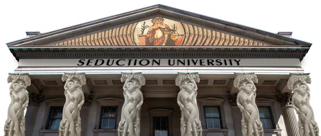 Seduction University logo