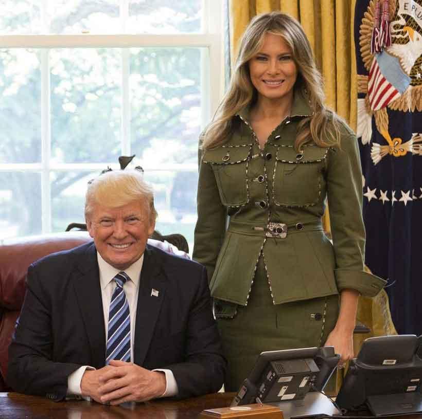 alpha female malania trump
