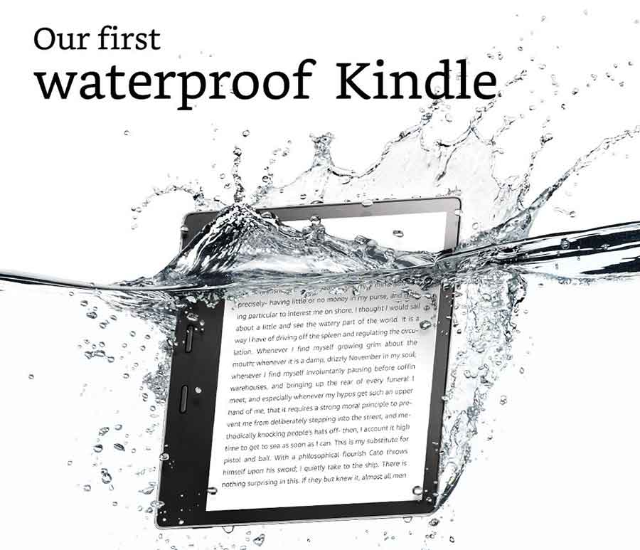 waterproof kindle