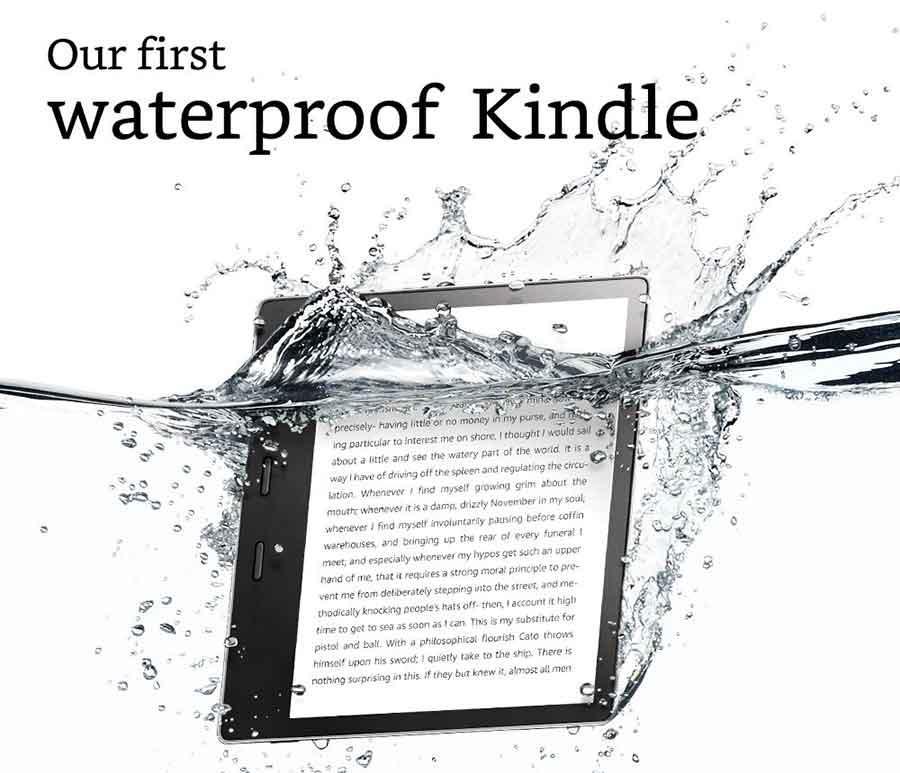 waterproof kindle