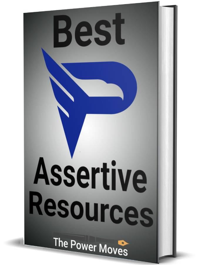 best assertiveness books cover